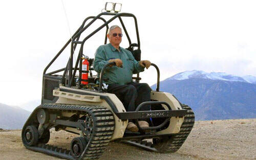 The Ultimate Off-Road Wheelchair
