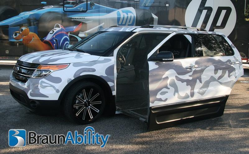 Braunability Announces New Ford Explorer Concept Suv For