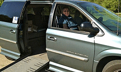 gray-dodge-grand-caravan-side-entry-wheelchair-van