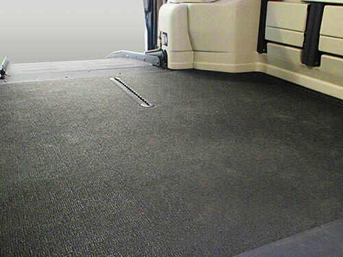New Rubberized Floors in Wheelchair Minivans a Noticeable Long-Lasting  Feature | MobilityWorks