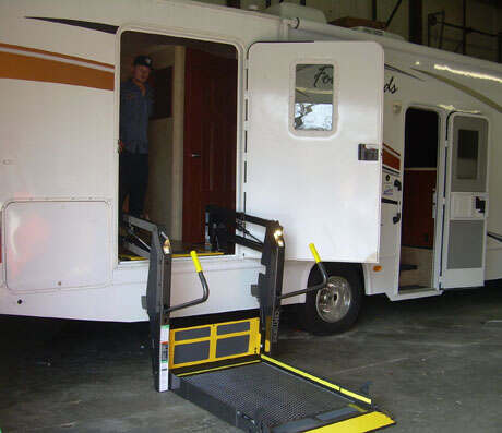 wheelchair lifts can be added to RVs for accessible transportation