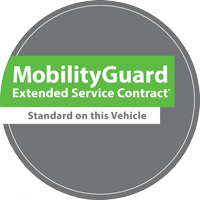 Mobility Guard Eligable Vehicle Badge