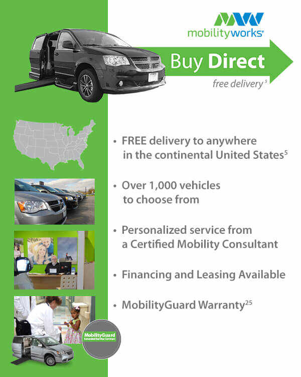 MobilityWorks Buy Direct - Free delivery to anywhere in the continental United States