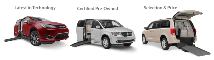 Wheelchair Accessible Vehicles, latest technology, certified pre-owned, selection and price